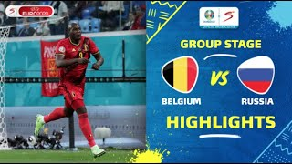 UEFA Euro 2020 | Group B | Belgium v Russia | Highlights