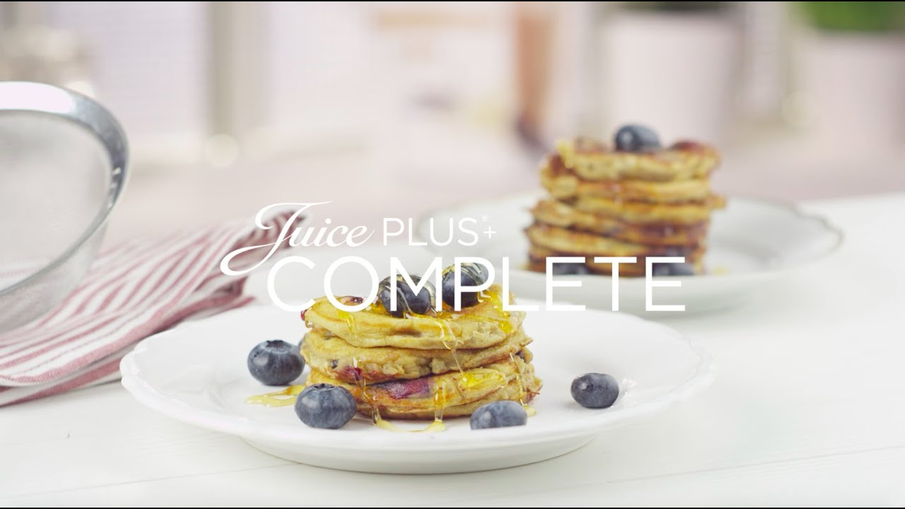 Estremamente Juice PLUS+ Pancakes - YouTube VA22