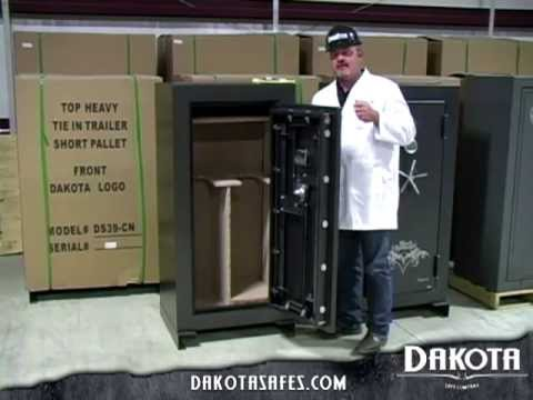 Dakota Safe - Door Construction, What to Look For in a Gun Safe Door