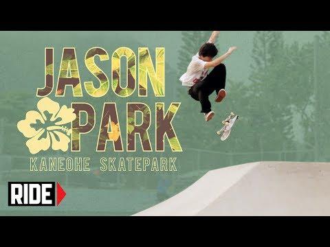 Jason Park Skates the Kaneohe, HI Skatepark