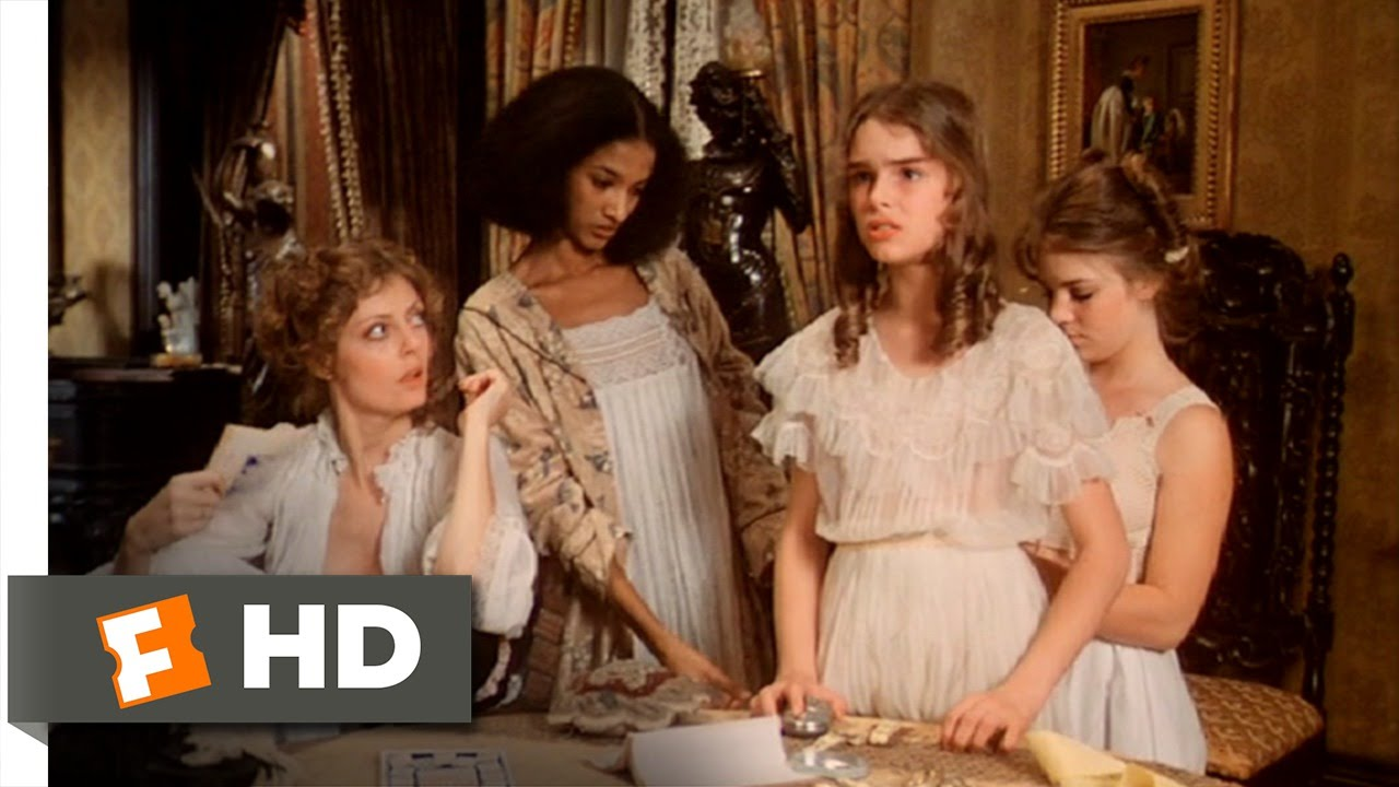 Pretty Baby 28 Movie CLIP  Prepping Violet 1978 HD