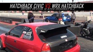Hatchback Civic vs Wrx Hatchback