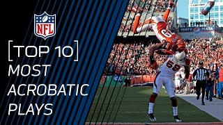 Top 10 Most Acrobatic Plays | NFL