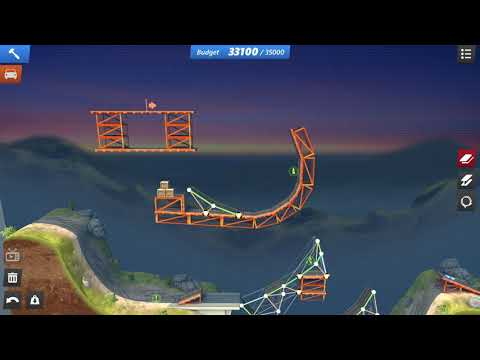 [Bridge Constructor Stunts] Campaign 5 - All Starts and Bolts |