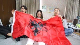 Japanese GET The Albanian Flag!!! 🇯🇵🇦🇱