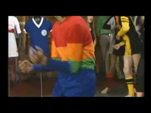 How the Germans Put On A Football Fashion Show Back in the Day