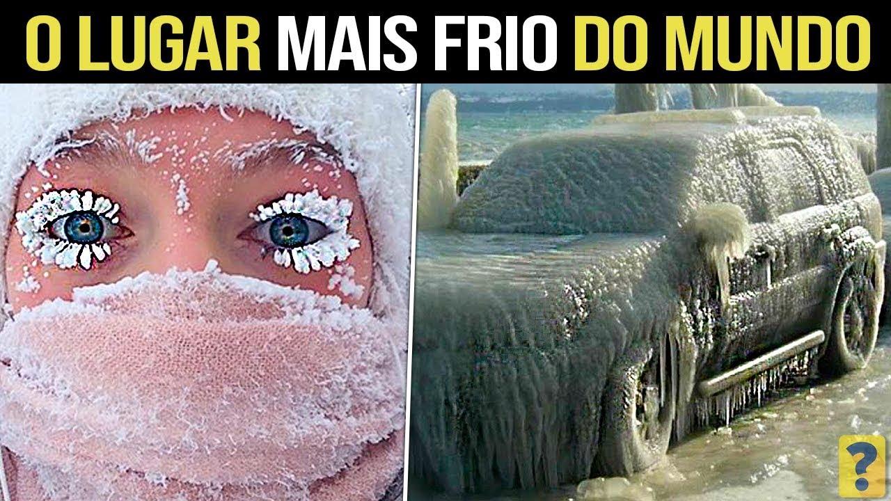 Veja como SOBREVIVEM no LUGAR MAIS FRIO DO MUNDO !!