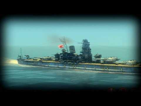 USS Iowa vs IJN Yamato *REMADE*