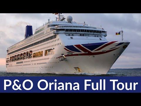 P&O Oriana Ship Tour. New Piano Land Cruise Ship Ex. Oriana