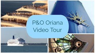 P&O Oriana Ship Tour - Oriana Sold & Leaving the P&O Cruises fleet in August 2019.