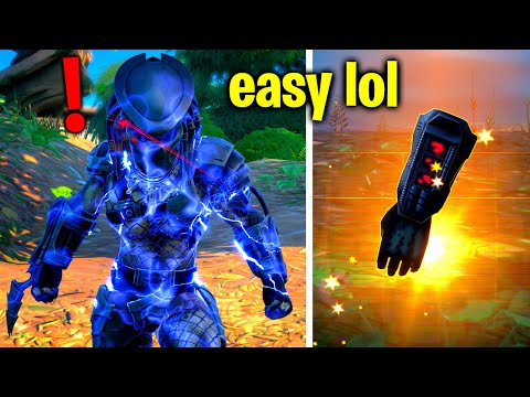 How To EASILY Defeat Boss Predator! (Fortnite Predator Challenges)