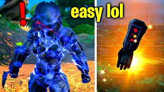 How To EASILY Deḟeat Boss Predator! (Fortnite Predator Challenges)