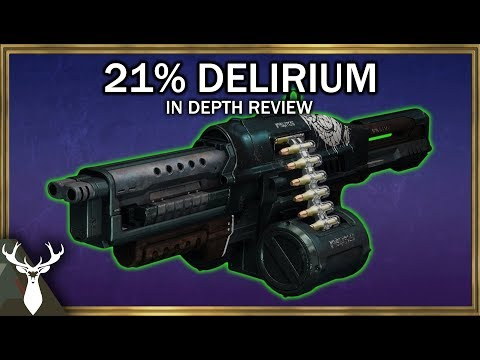 Destiny 2 - 21% Delirium - In Depth Review (Pinnacle Gambit Heavy Weapon) thumbnail