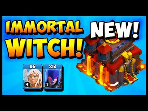 NEW Town Hall 10 ATTACK Strategy 2019! Immortal Witch - TH10 - CLASH OF CLANS