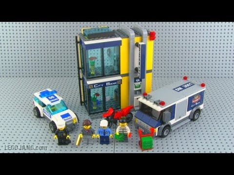 Lego City Bank Money Transfer 3661 Review Youtube