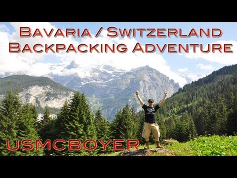 Bavaria / Switzerland Backpacking Adventure