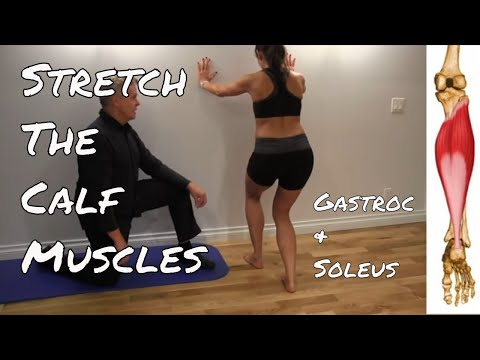 Stretching Your Calf