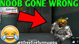 Free Fire New mode Clash Squad Noob Gone wrong😭😭😭😭 Free fire funny way |HINDI| JORAWAR GAMING