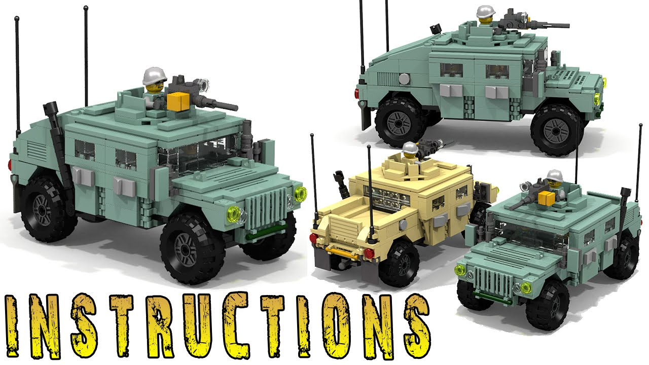 How To Build Lego Humvee Youtube