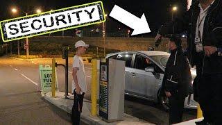 TANNER FOX VS. SECURITY !