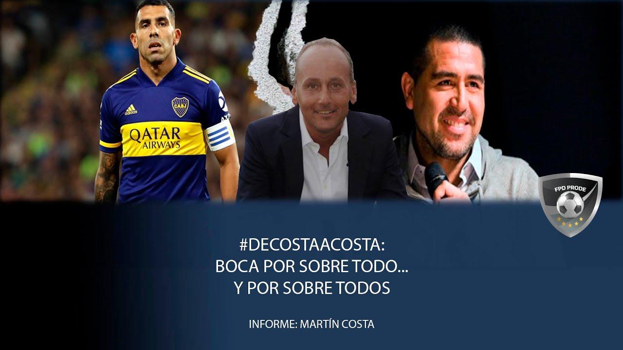 #DeCostaaCosta: Boca por sobre todo... y por sobre todos