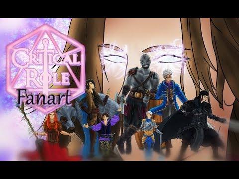 Critical Role Vox Machina Fanart Youtube I can't explain why i think they do but? critical role vox machina fanart