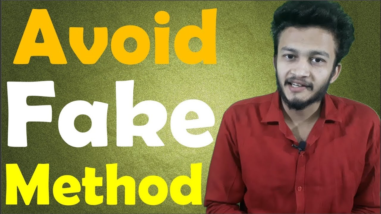 {HINDI} How to Identify Fake Apps , fake website , avoid fake method, protect online privacy