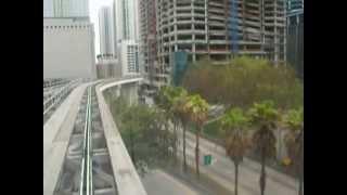 full hd 1080p video MIAMI FLORIDA METROMOVER