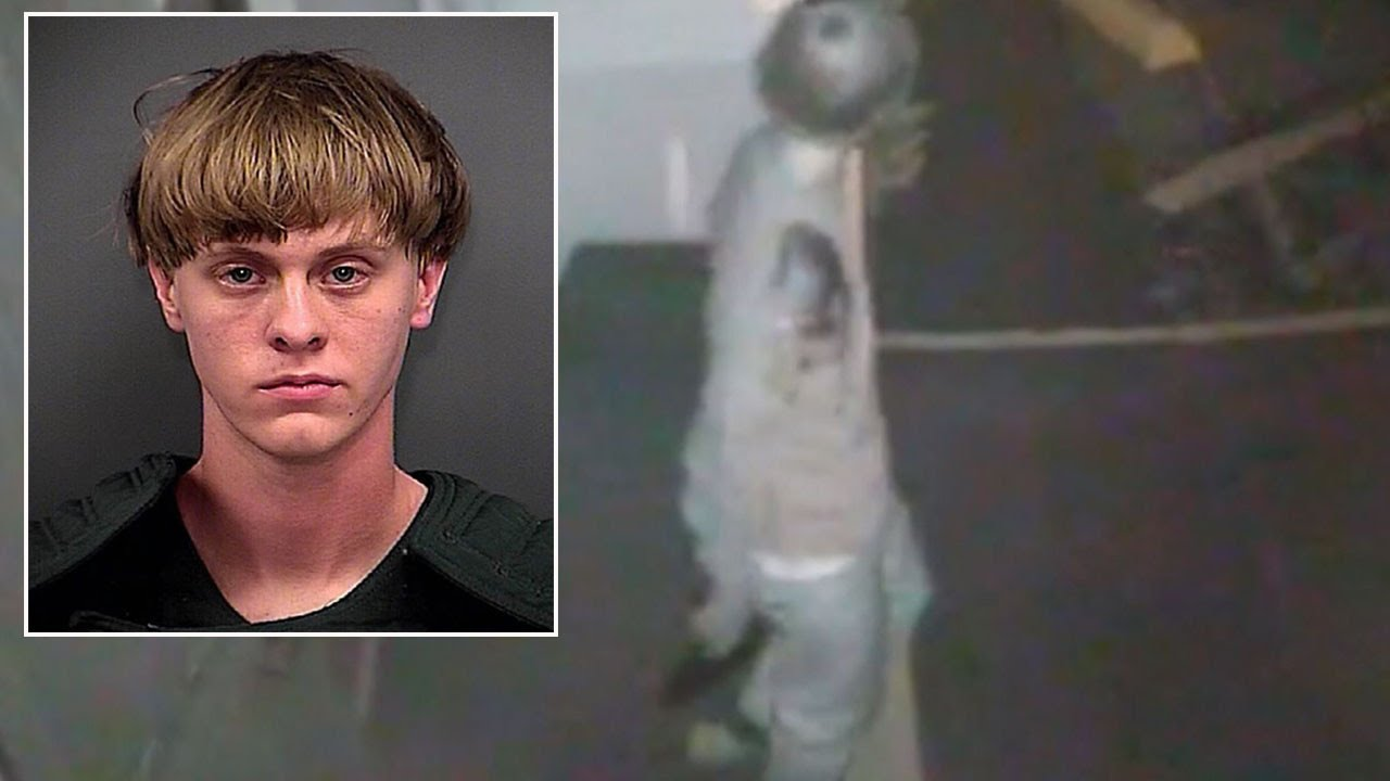 Download Sees Disturbing Video Of Dylann Roof Entering Church Before Shooting