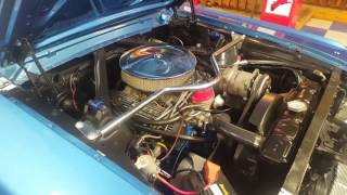 1965 Ford Mustang Fastback Blue / White (A&E Classic Cars)