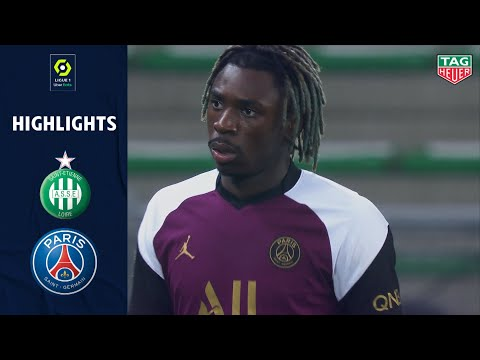St. Etienne PSG Goals And Highlights