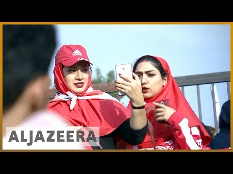 🇮🇷️⚽️Iranian football reaches new heights, female supporters want in | Al Jazeera English