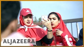 🇮🇷️⚽️Iranian football reaches new heights, female supporters want in   Al Jazeera English