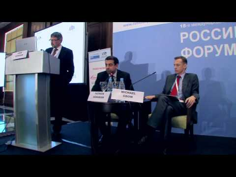 CEO Panel Discussion at Russian Pharmaceutical Forum 2012