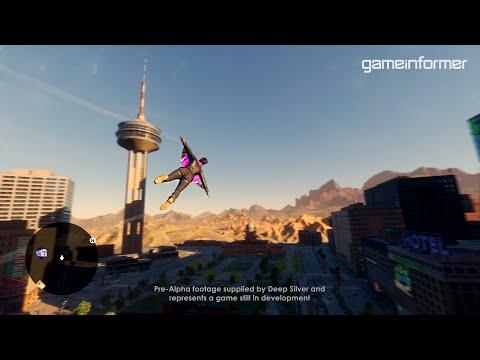 Watch The Saints Row Reboot's Wingsuit In Action   Exclusive Gameplay