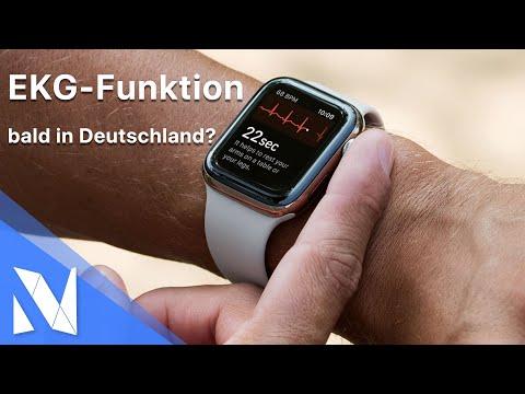 EKG-Funktion der Apple Watch Series 4 verfügbar! - Wann in Deutschland?   Nils-Hendrik Welk