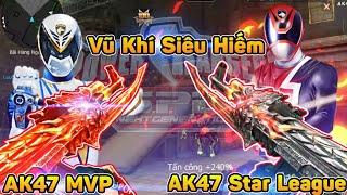 CF Legends | Súng Đấu Giải Siêu Hiếm AK47 MVP vs AK47 Star League : Bạn Chọn Súng Nào?
