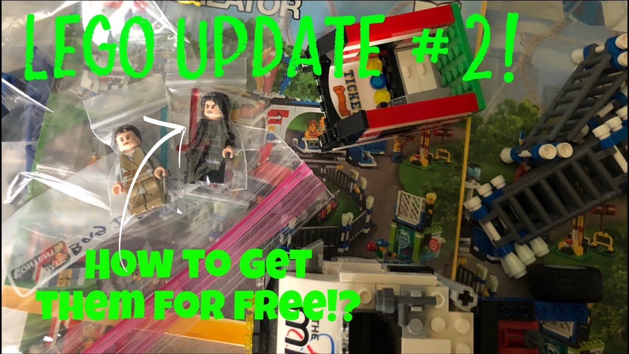 How to get FREE LEGO MINIFIGURES!? LEGO Giveaway! | Lego update #2!