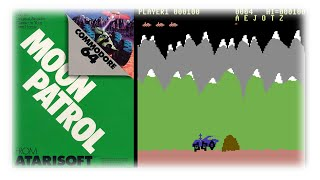 Moon Patrol | Commodore 64 | 1983 | Atarisoft | Road To Cologne Special 6/10