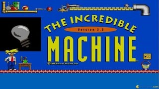The Incredible Machine 3 - 1995 PC Game, introduction and gameplay