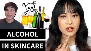 The Real Science Behind Alcohol in Skincare with KindofStephen | Lab Muffin Beauty Science
