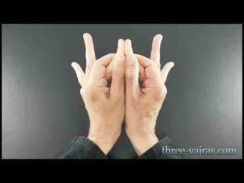 Sacral Chakra (Svadhisthana) Mudra Tutorial- Variations | Three Vajras