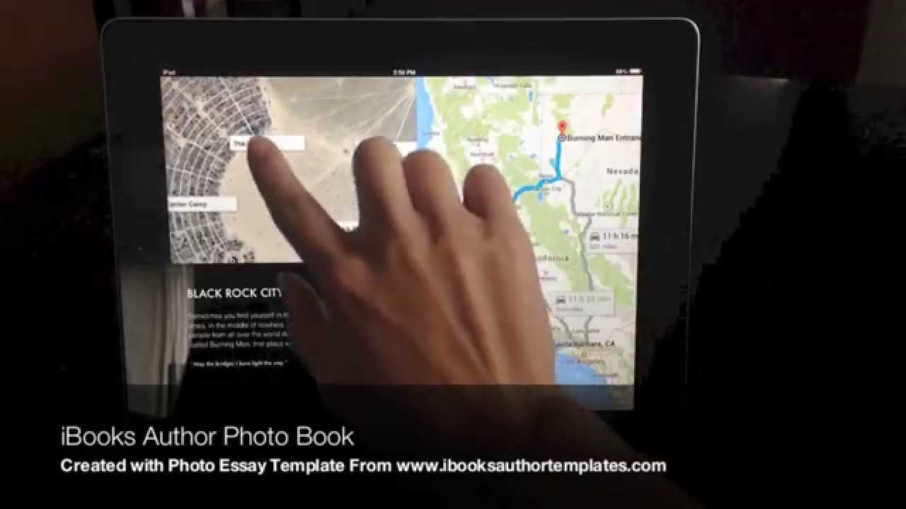 Make an interactive Photo Book with iBooks Author - YouTube