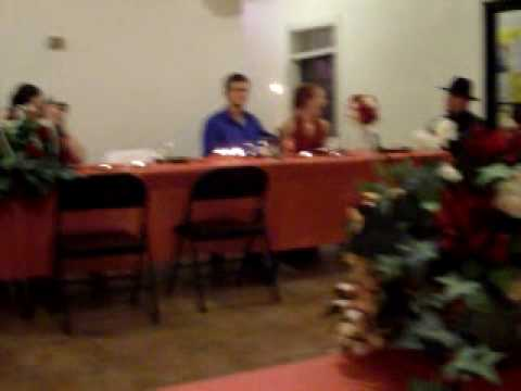 A video of Bobbi Jo's and Dustin's Wedding Reception 2009#2.mov