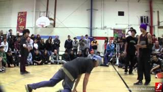 Pichai & Boogie Monster vs. Alien & Slinky | Bboy Semi | Deuces Wild | www.bboyfed.com