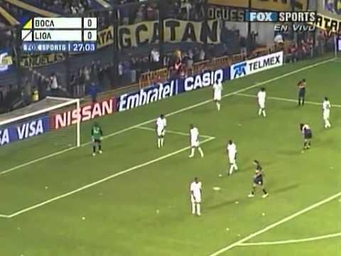 Copa Sudamericana - Boca Juniors vs LDU Quito (2008) 1/2