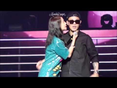 (Monday couple) kang gary and song ji hyo sing turn off the tv compilation