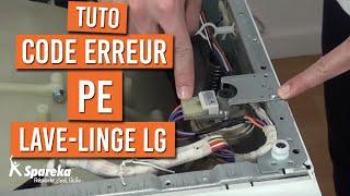 Code Panne PE - Lave-Linge LG