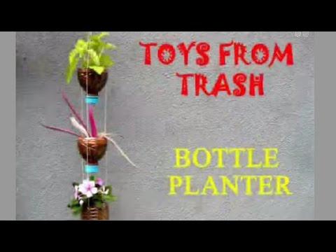 Bottle Planter | Bhojpuri | Recycle Plastic Bottles