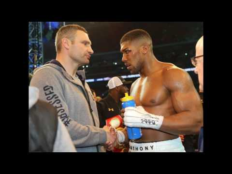 Anthony Joshua Nearly Came To Blows With Vitali Klitschko According To Eddie Hearn!!